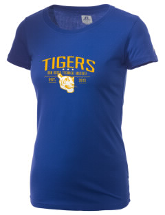 Don Bosco Technical Institute Tigers  Russell Women's Campus T-Shirt
