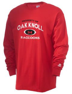 Oak Knoll Elementary School Raccoons  Russell Men's Long Sleeve T-Shirt
