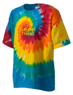 Geff Elementary School Eagles Kid's Tie-Dye T-Shirt