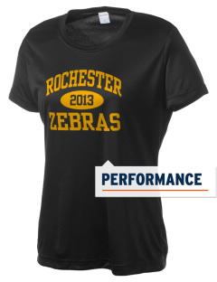 Rochester Community High School Zebras Women's Competitor Performance T-Shirt