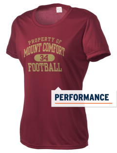 Mount Comfort Elementary School Mounties Women's Competitor Performance T-Shirt