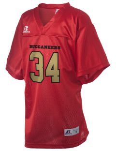 Mount Comfort Elementary School Mounties Russell Kid's Replica Football Jersey