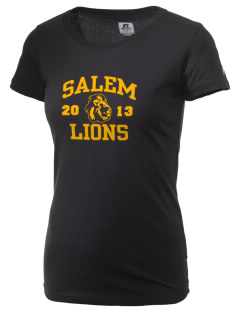 Salem High School Lions  Russell Women's Campus T-Shirt