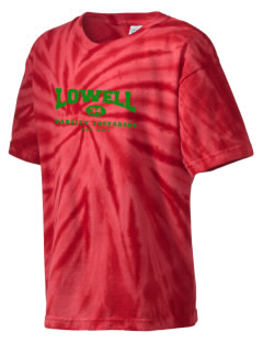 Lowell Elementary School Toreadors Kid's Tie-Dye T-Shirt