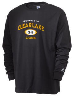 Clear Lake High School Lions  Russell Men's Long Sleeve T-Shirt
