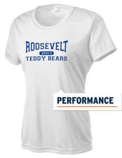 Roosevelt Elementary School Teddy Bears Women's Competitor Performance T-Shirt