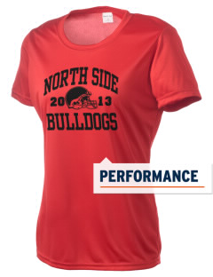 North Side Elementary School Bulldogs Women's Competitor Performance T-Shirt