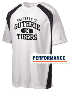 Guthrie Center Junior High School Tigers Men's Dry Zone Colorblock T-Shirt