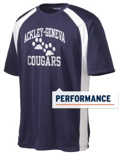 Ackley-Geneva Elementary School Cougars Men's Dry Zone Colorblock T-Shirt