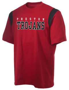 Preston High School Trojans Holloway Men's Rush T-Shirt