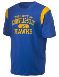 Lynnville-Sully Elementary School Hawks Holloway Men's Rush T-Shirt