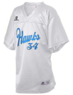 Lynnville-Sully Elementary School Hawks Russell Kid's Replica Football Jersey