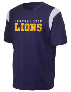 Central Lyon Elementary School Lions Holloway Men's Rush T-Shirt