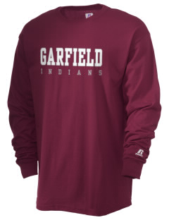 Garfield Elementary School Indians  Russell Men's Long Sleeve T-Shirt