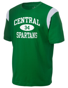 Central Elementary School Spartans Holloway Men's Rush T-Shirt