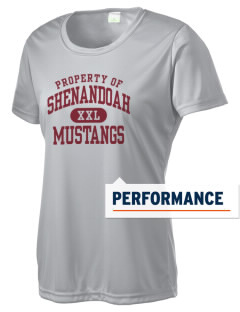 Shenandoah Elementary School Mustangs Women's Competitor Performance T-Shirt