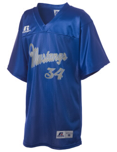 Newell-Fonda Middle School Mustangs Russell Kid's Replica Football Jersey