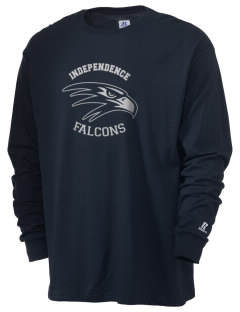 Independence High School Falcons  Russell Men's Long Sleeve T-Shirt
