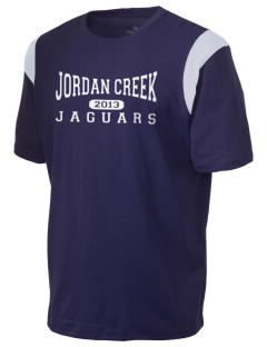 Jordan Creek Elementary School Jaguars Holloway Men's Rush T-Shirt