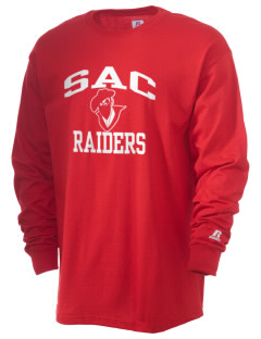 Sac Community High School Indians  Russell Men's Long Sleeve T-Shirt