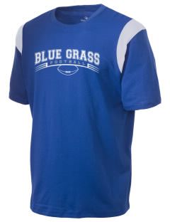 Blue Grass Elementary School Wildcats Holloway Men's Rush T-Shirt