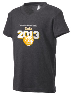 Garfield Elementary School Cubs Kid's V-Neck Jersey T-Shirt