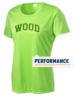 Wood Intermediate School Vikings Women's Competitor Performance T-Shirt