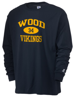 Wood Intermediate School Vikings  Russell Men's Long Sleeve T-Shirt