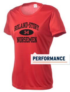 Roland-Story High School Norsemen Women's Competitor Performance T-Shirt