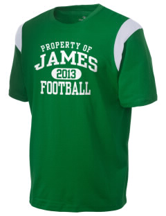James Elementary School Jets Holloway Men's Rush T-Shirt