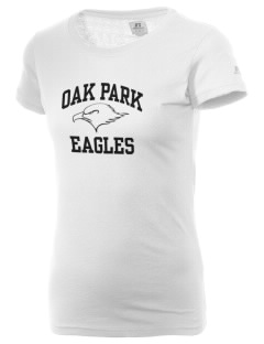 Oak Park Elementary School Eagles  Russell Women's Campus T-Shirt