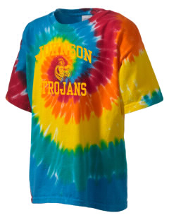 Johnson Elementary School Trojans Kid's Tie-Dye T-Shirt