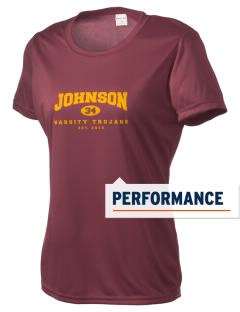 Johnson Elementary School Trojans Women's Competitor Performance T-Shirt