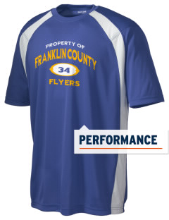 Franklin County High School Flyers Men's Dry Zone Colorblock T-Shirt