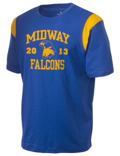 Midway Elementary School Falcons Holloway Men's Rush T-Shirt