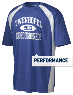 Twenhofel Middle School Thoroughbreds Men's Dry Zone Colorblock T-Shirt