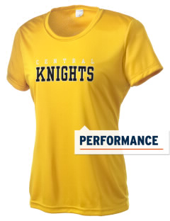 Central High School Knights Women's Competitor Performance T-Shirt