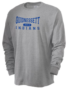 Quidnessett Elementary School Indians  Russell Men's Long Sleeve T-Shirt