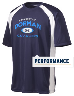 Dorman High School Cavaliers Men's Dry Zone Colorblock T-Shirt
