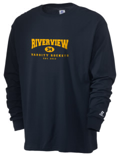 Riverview Elementary School Rockets  Russell Men's Long Sleeve T-Shirt