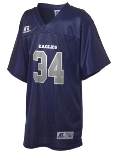 Carthage Elementary School Eagles Russell Kid's Replica Football Jersey