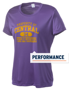 Central High School Purple Pounders Women's Competitor Performance T-Shirt