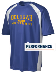 Oologah High School Mustangs Men's Dry Zone Colorblock T-Shirt