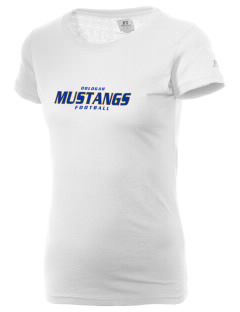 Oologah High School Mustangs  Russell Women's Campus T-Shirt