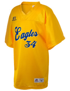 Sequoyah High School Eagles Russell Kid's Replica Football Jersey