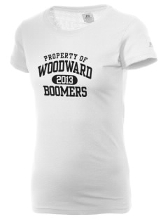 Woodward Senior High School Boomers  Russell Women's Campus T-Shirt