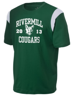Rivermill Elementary School Cougars Holloway Men's Rush T-Shirt