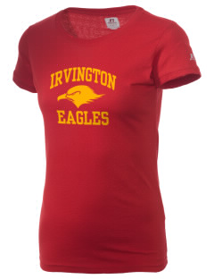 Irvington Elementary School Eagles  Russell Women's Campus T-Shirt
