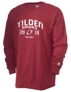 Tilden Elementary School Hawks  Russell Men's Long Sleeve T-Shirt