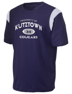 Kutztown Area High School Cougars Holloway Men's Rush T-Shirt